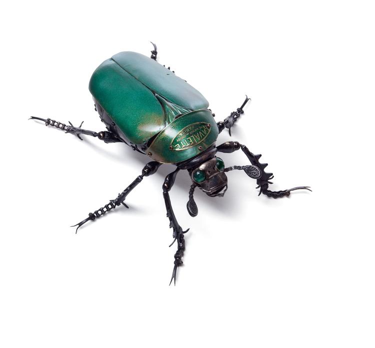 'Rose Beetle' - Edouard Martinet