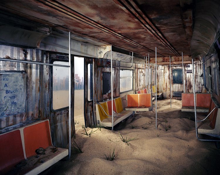 'Subway' - Foto: Lori Nix (lorinix.net)