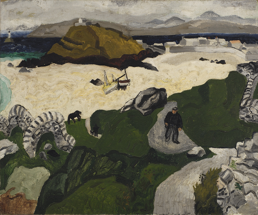 Christopher Wood, Portmeor Beach, 1928. Private collection - Courtesy Pallant House Gallery