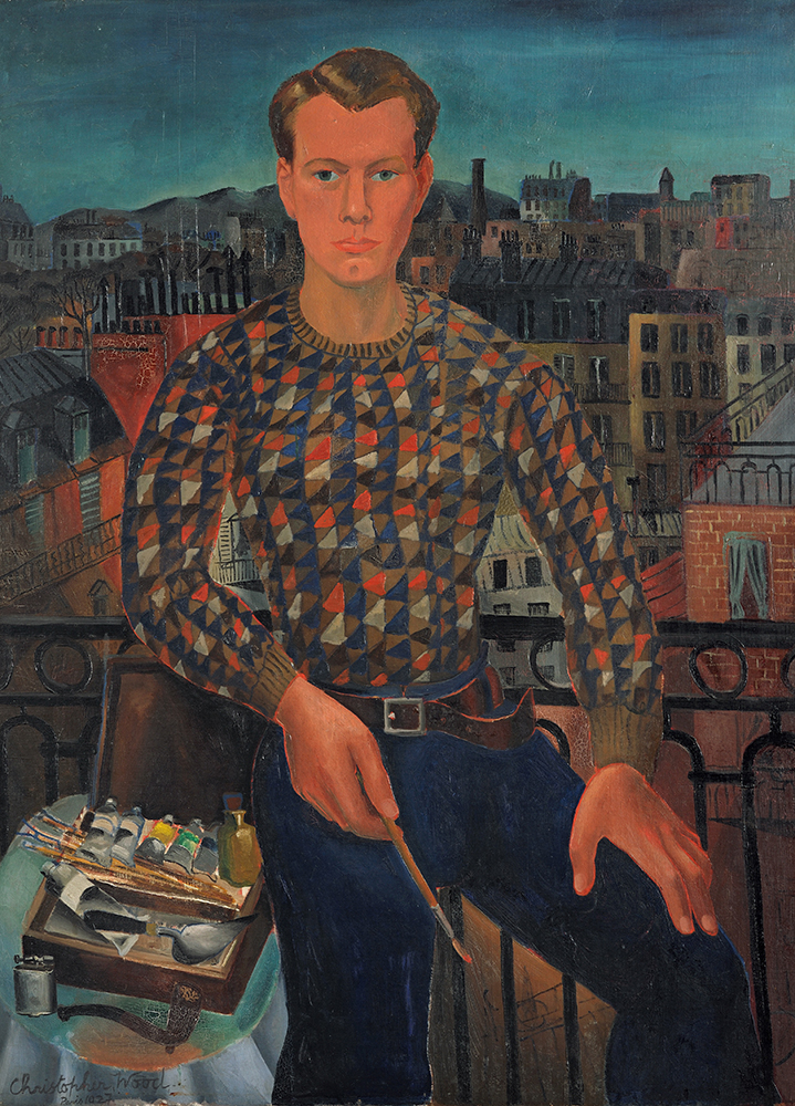 Christopher Wood, Self-portrait, 1927, Kettle's Yard University of Cambridge - Courtesy Pallant House