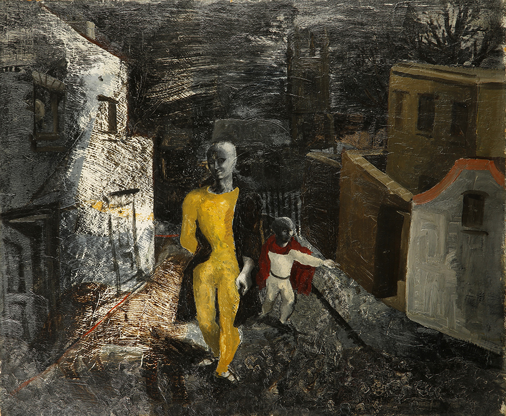 Christopher Wood, The Yellow Man, 1930, private collection - Courtesy Pallant House Gallery