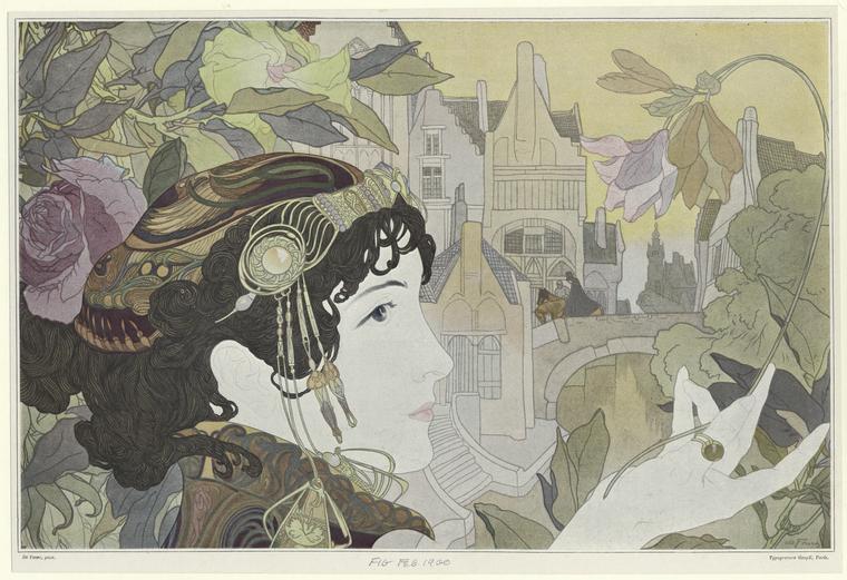 'Femme de Gand' -Georges de Feure
