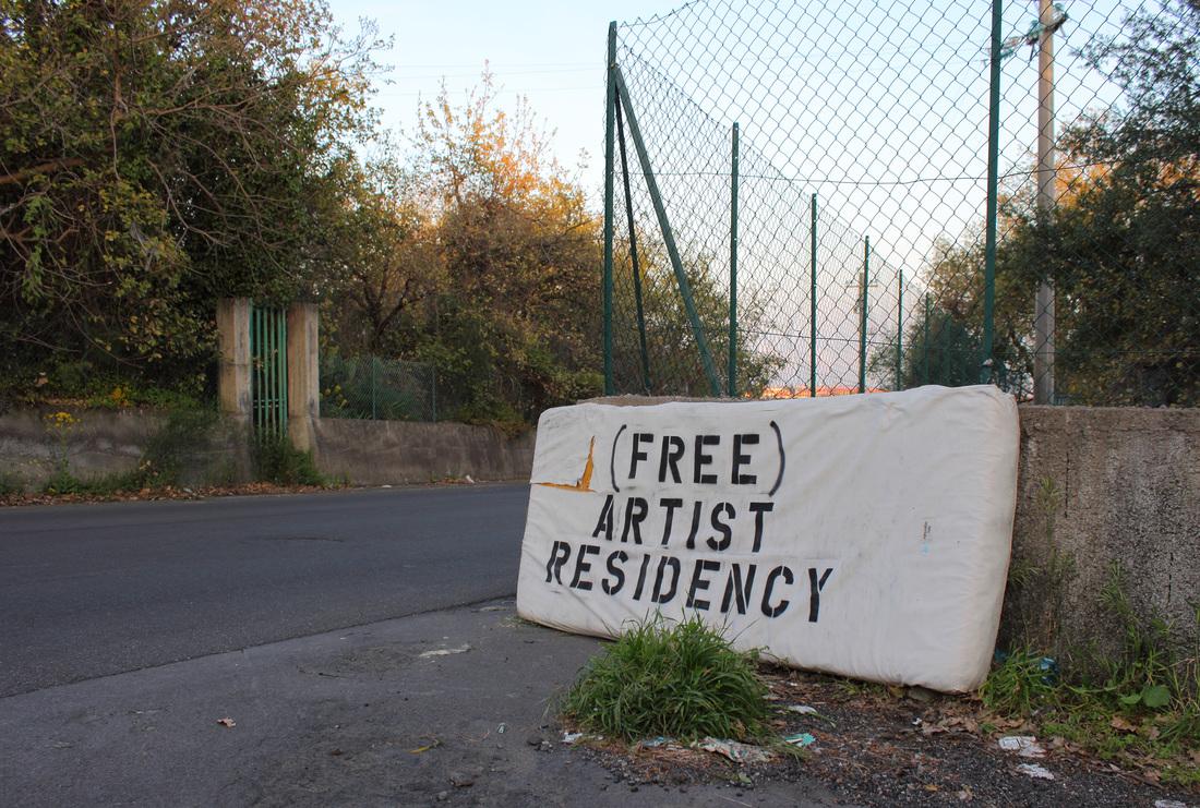 '(Free) Artist Residency' ('Redicencia de artistas (gratuita)' - Vlady - Foto: www.vladyart.com
