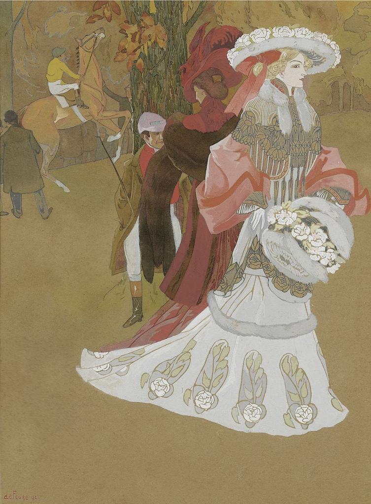 'La Toilette Sensationnelle' (1902) - Georges de Feure