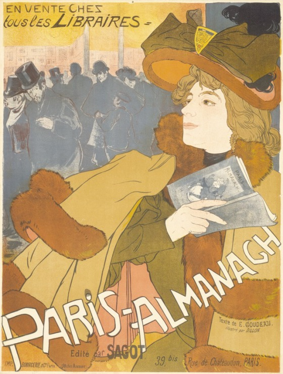 'Paris-Almanach' (1894) - Georges de Feure
