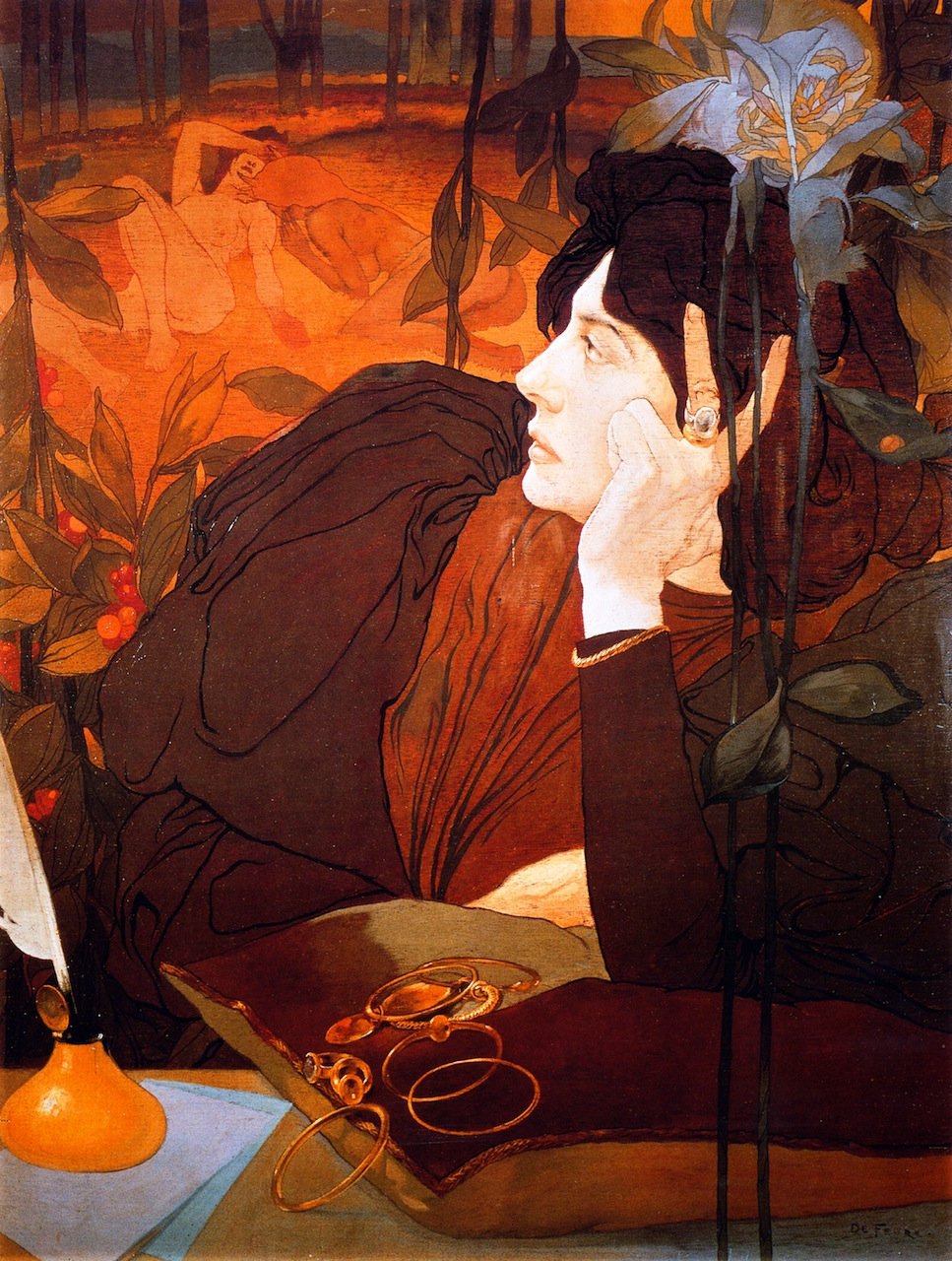 'The Voice of Evil' (1910) - Georges de Feure
