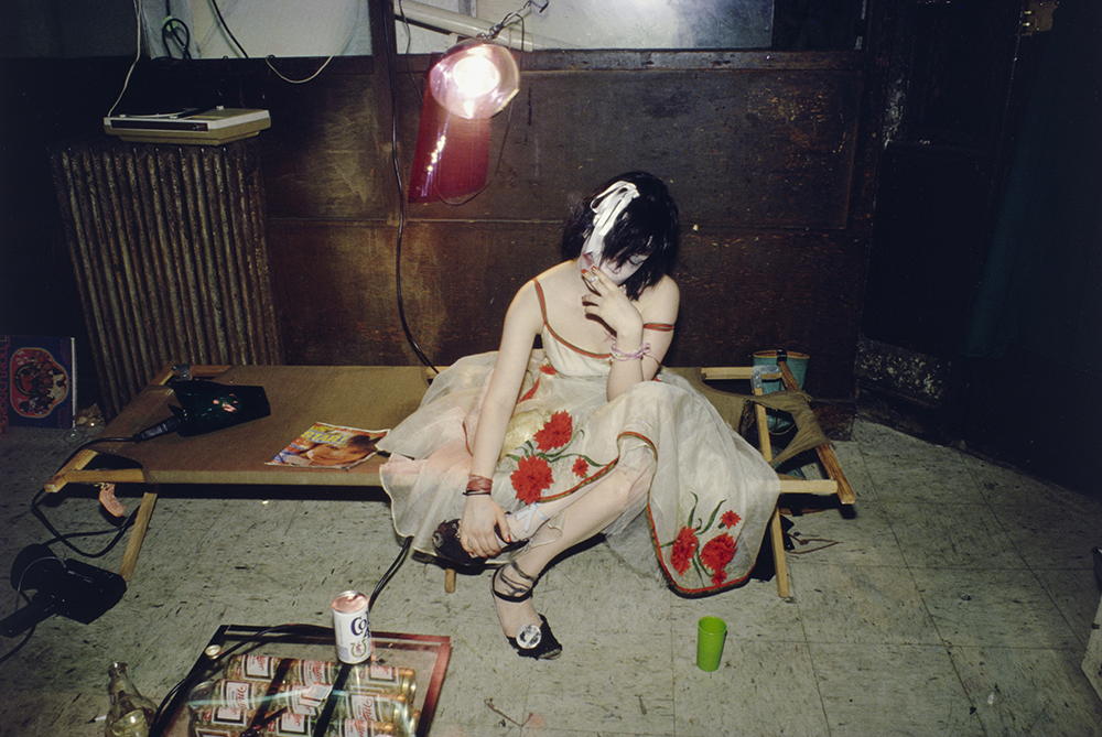 Nan Goldin - Trixie on the Cot, New York City. 1979. The Museum of Modern Art, New York © 2016 Nan Goldin