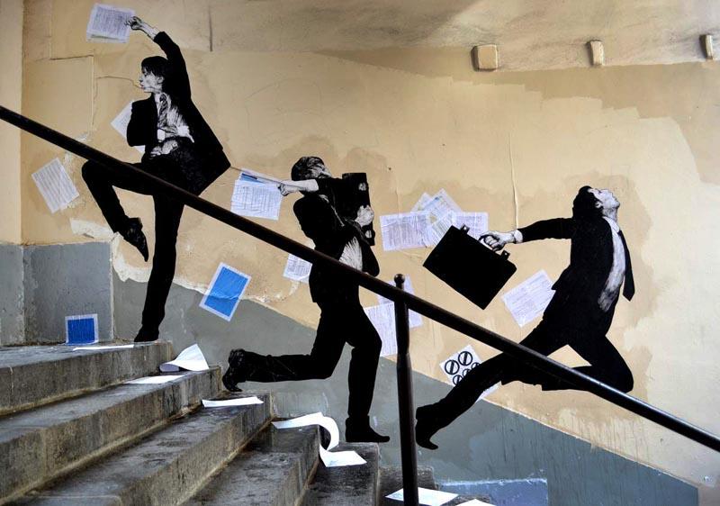 'Envolée sauvage' - Levalet - Foto: levalet.overblog.com