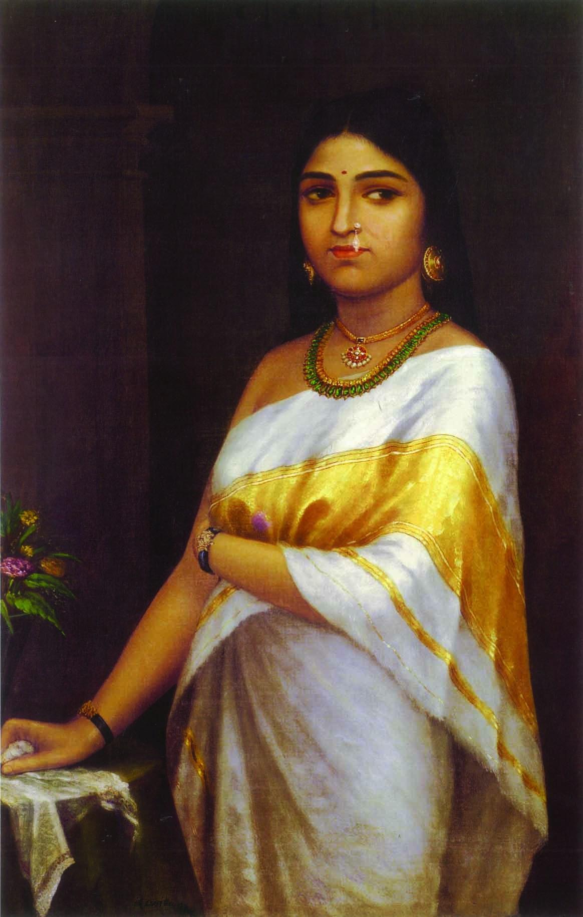 'Malayalee woman' - Raja Ravi Varma