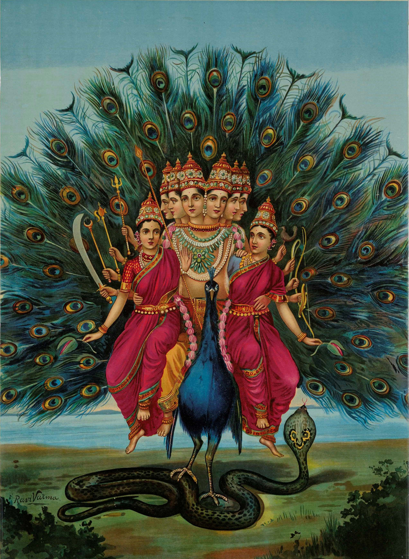 'Murugan' - Raja Ravi Varma