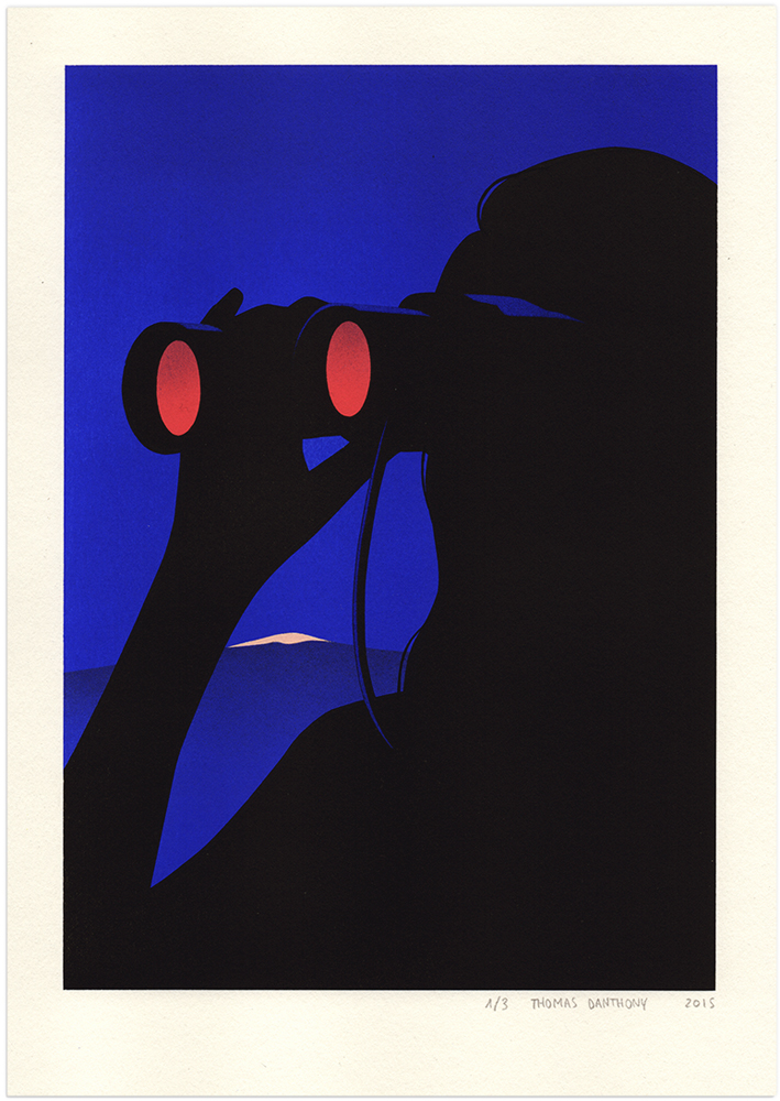 'Observer', obra de la serie 'Voyage' - © Thomas Danthony - Foto: thomasdanthony.com