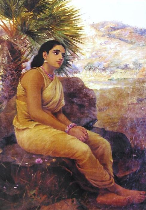 'Shakuntala' - Raja Ravi Varma