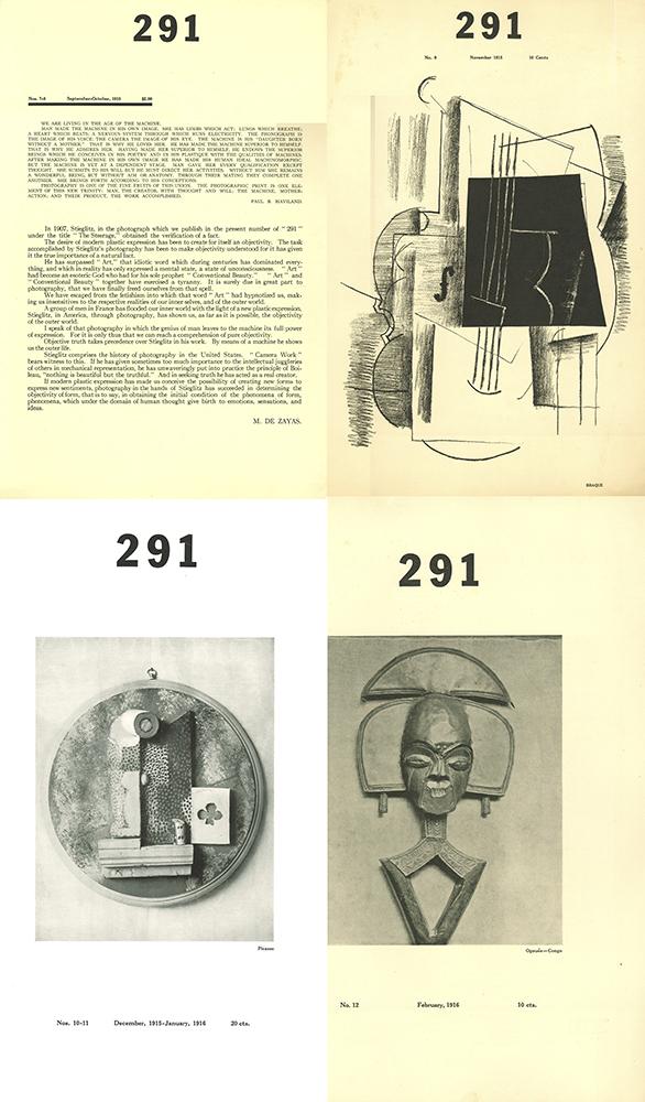 Portadas de otros cuatro de los ejemplares de la revista 291 - Dominio público