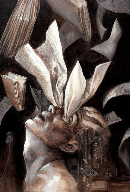 'Ravenous Eye', 2016 © Santiago Caruso - santiagocaruso.com.ar