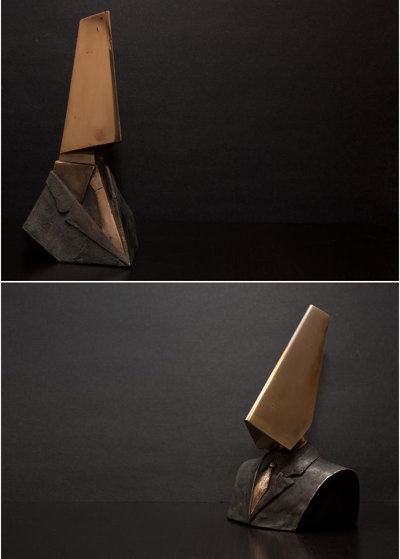 'Divider' ('Divisor') y Conqueror ('Conquistador'), bustos del artista Georgios Cherouvim - Foto: ch3.gr