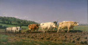 Rosa Bonheur - Labourage nivernais, 1849 - Google Art Project