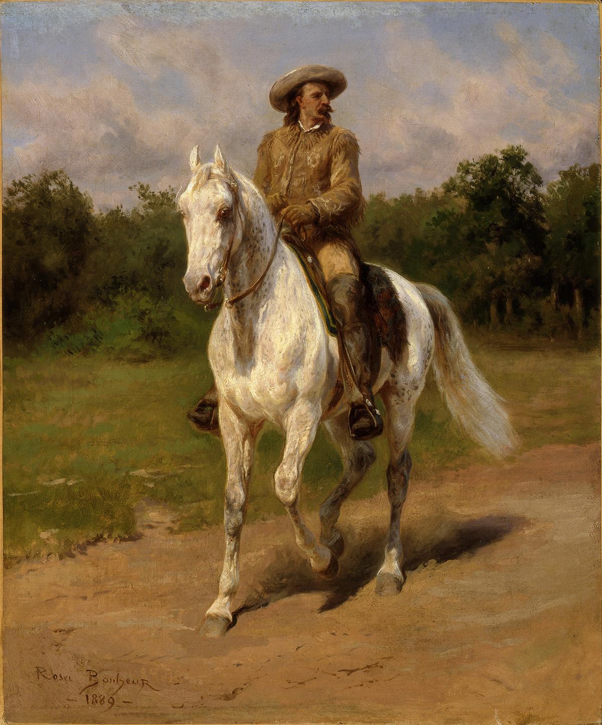 Col. William F. Cody (Buffalo Bill) - Rosa Bonheur, 1889 - Dominio público