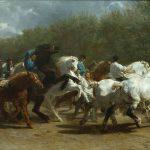 La foire du cheval - Rosa Bonheur, 1852-1855 - Dominio público