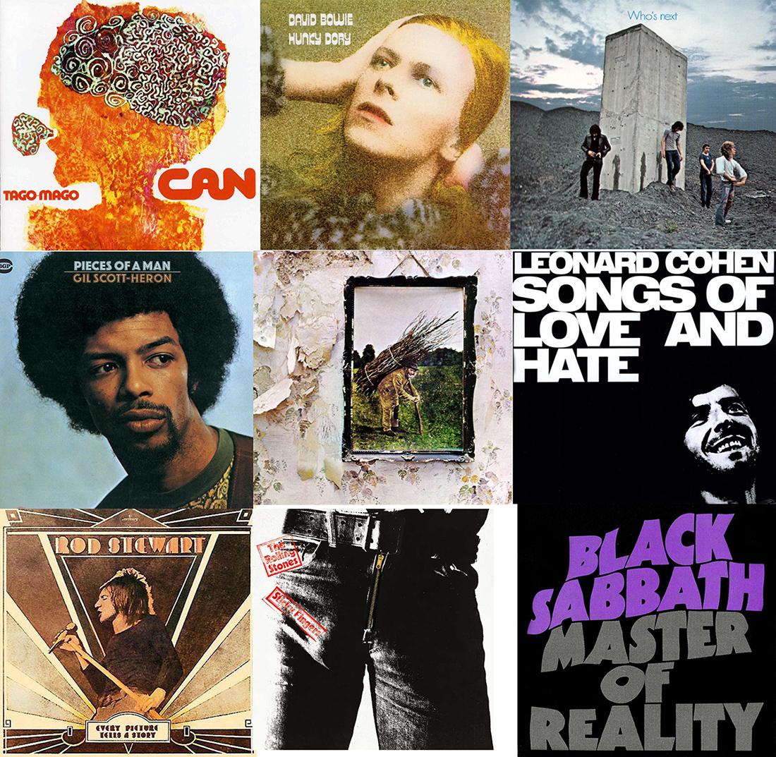 Otras nueve obras maestras de 1971