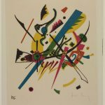 "Wassily Kandinsky, Small Worlds I, from the portfolio ""Small Worlds,"" 1922, Harvard Art Museums/Busch-Reisinger Museum"