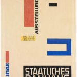 Herbert Bayer, Design for a Bauhaus Exhibition Poster, 1923, Harvard Art Museums/Busch-Reisinger Museum