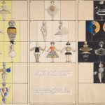 "Oskar Schlemmer, Costume Designs for the ""Triadic Ballet,"" 1926, Harvard Art Museums/Busch-Reisinger Museum"