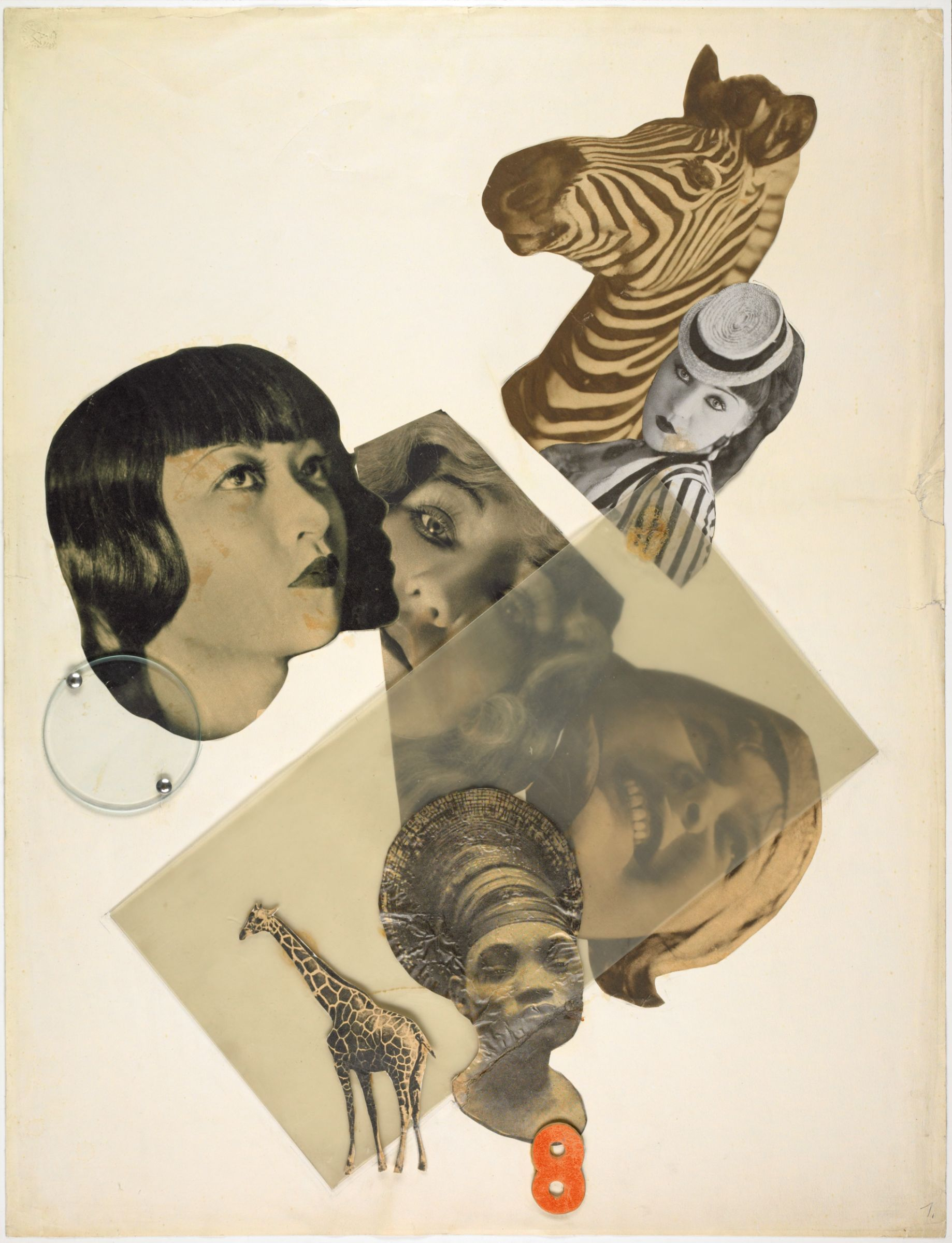 Marianne Brandt - Untitled [with Anna May Wong] - Harvard Art Museums/Busch-Reisinger Museum © Artists Rights Society (ARS), New York