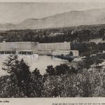 Walter Gropius and Marcel Breuer, Project for Black Mountain College, Lake Eden, North Carolina: Perspective, college seen across the valley, Harvard Art Museums/Busch-Reisinger Museum