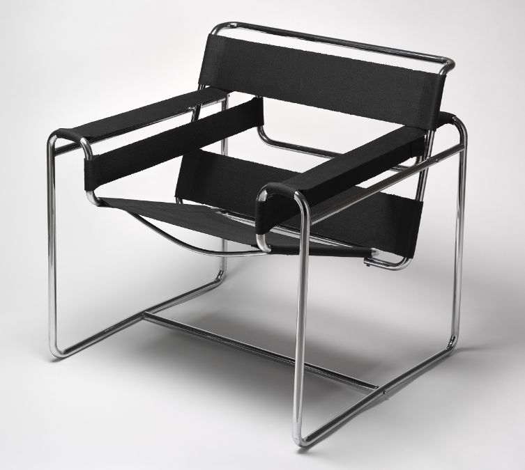 Marcel Breuer, Club Chair (B3), c. 1931, Harvard Art Museums/Busch-Reisinger Museum