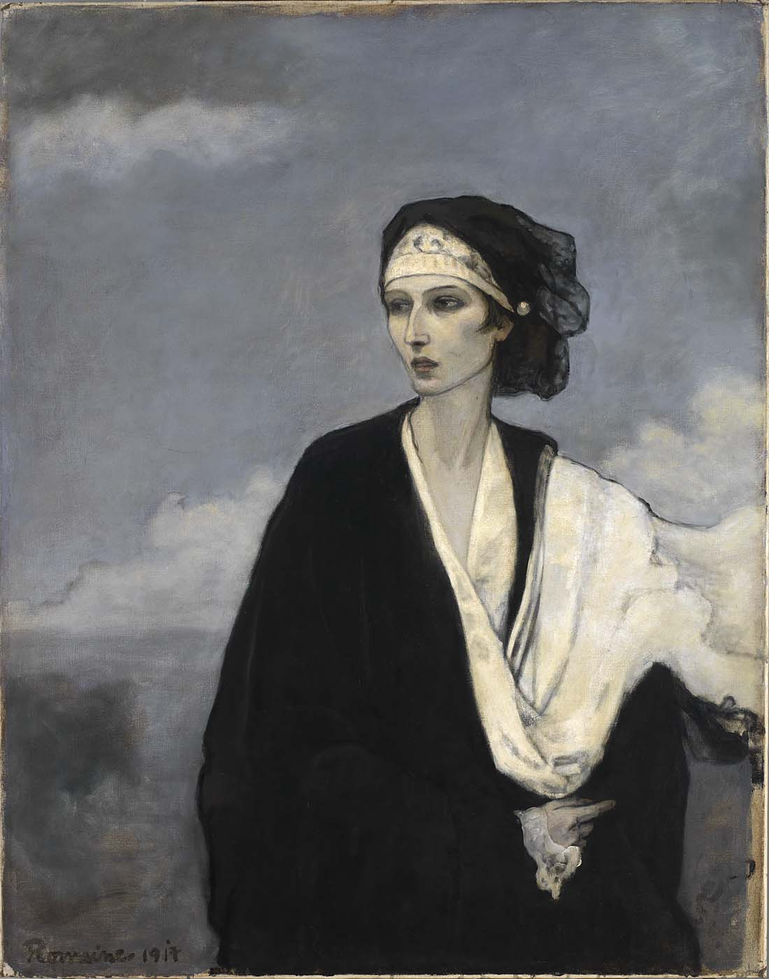Romaine Brooks - Ida Rubisntein, 1917 - Smithsonian American Art Museum