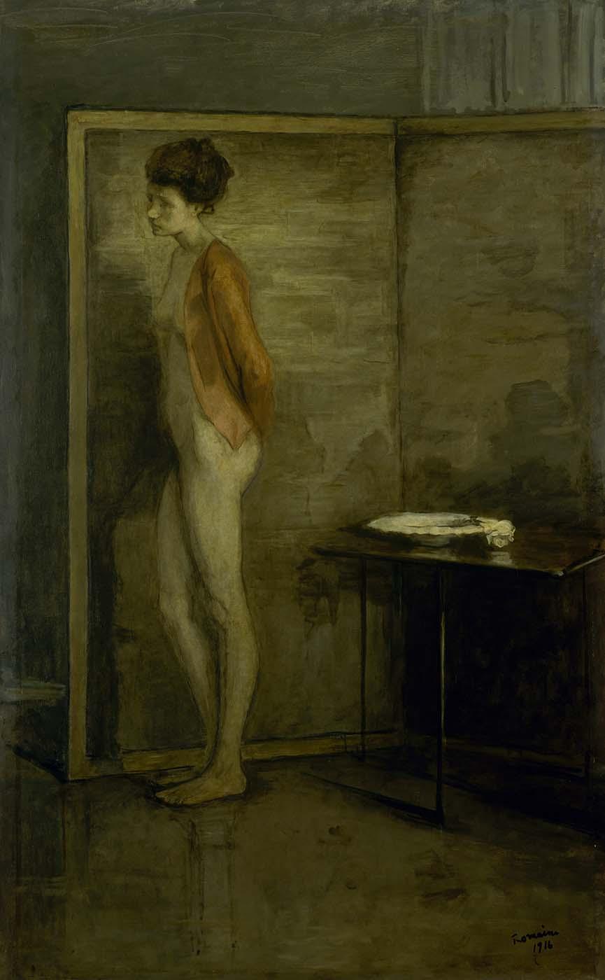 Romaine Brooks - La jacquette rouge, 1910 - Smithsonian American Art Museum