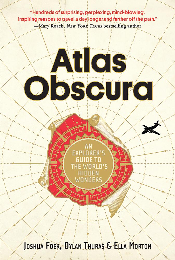 Cubierta de 'Atlas Obscura'