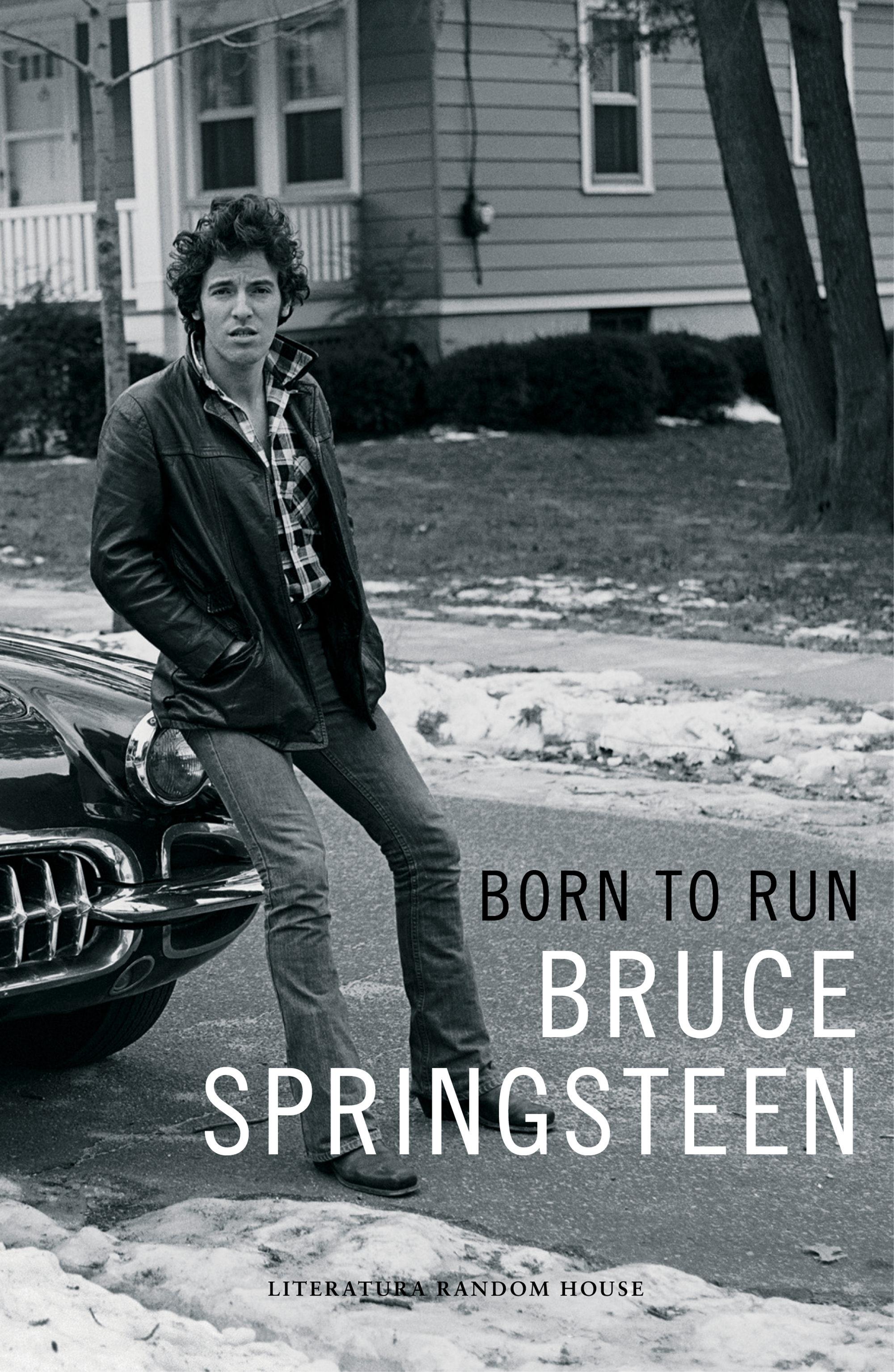 Cubierta de 'Born to Run', la autobiografía de Bruce Springsteen - Foto: Random House Mondadori