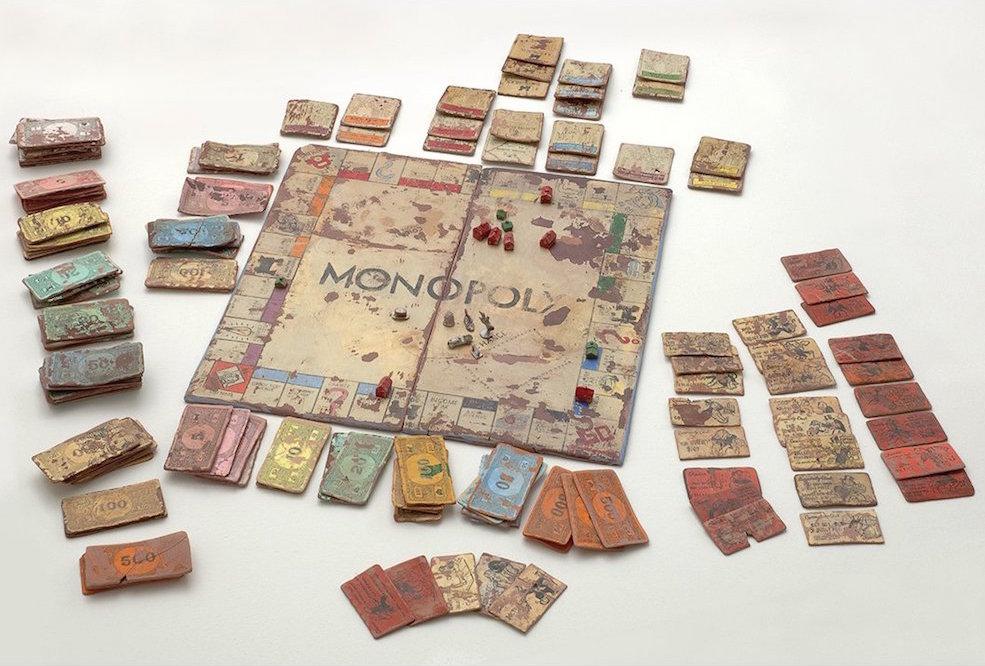 'Monopoly' - Kristen Morgin - Foto: www.marcselwynfineart.com