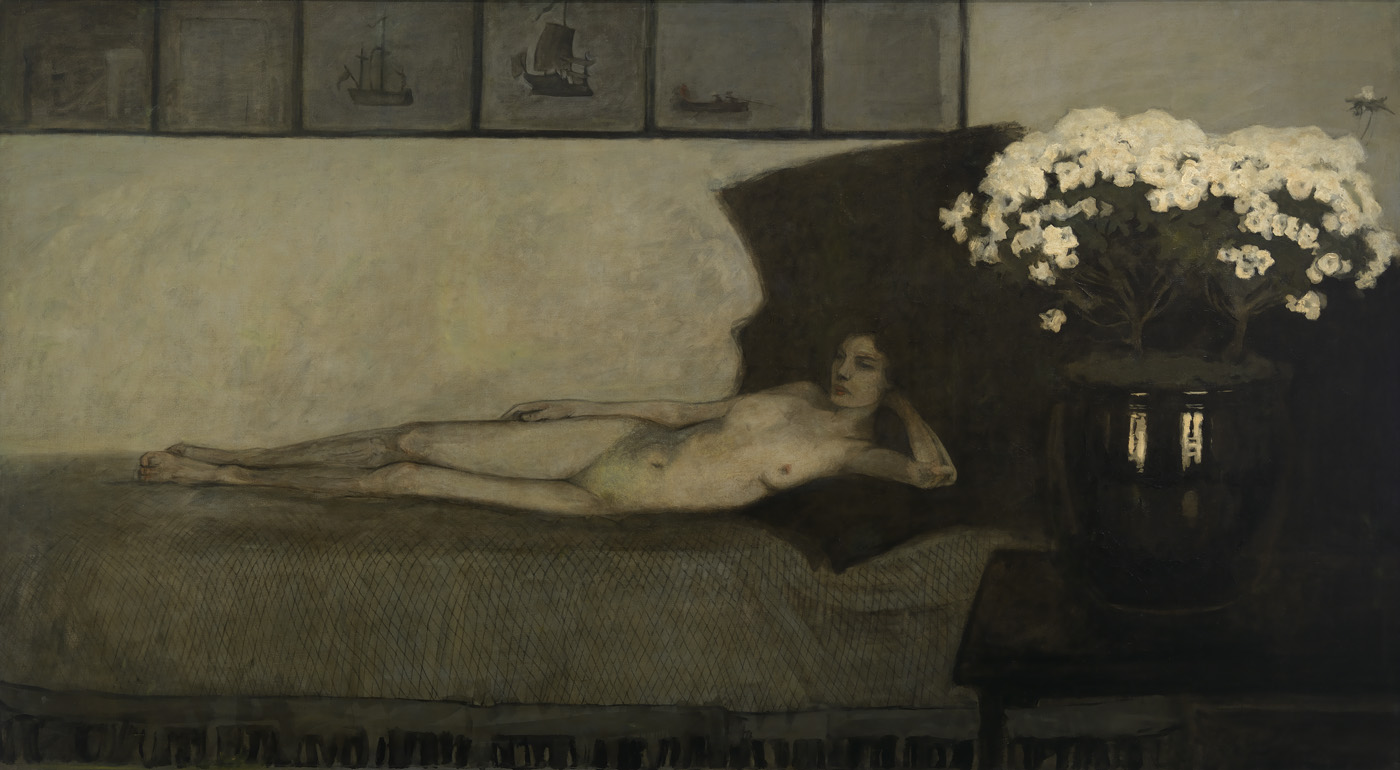 Romaine Brooks - Azalées Blanches, 1910 - Smithsonian American Art Museum