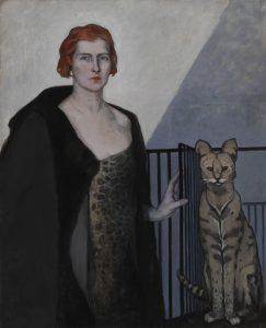 Romaine Brooks - La Baronne Emile D'Erlanger, about 1924 - Smithsonian American Art Museum