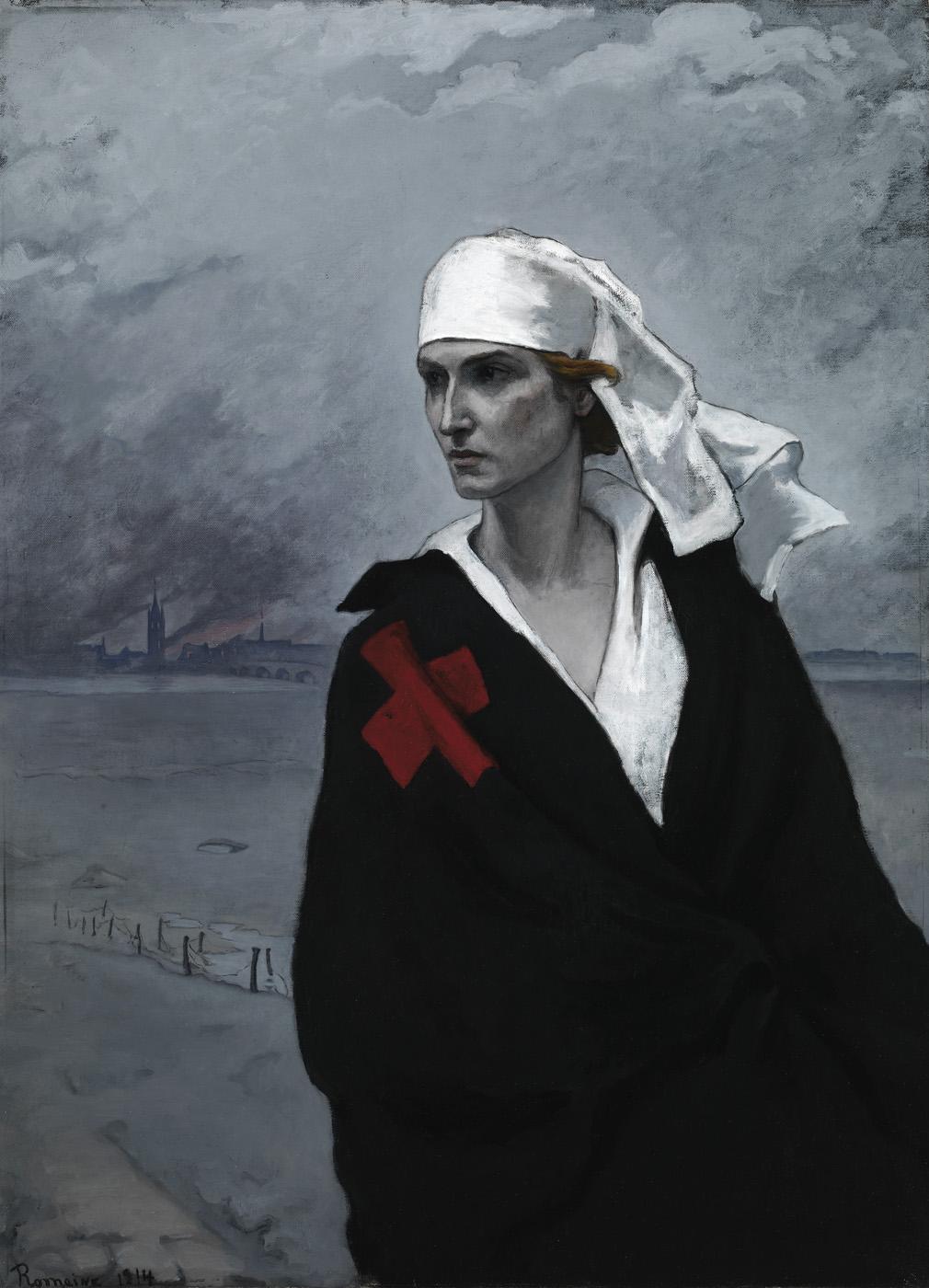 Romaine Brooks - La France croisée, 1914 - Smithsonian American Art Museum