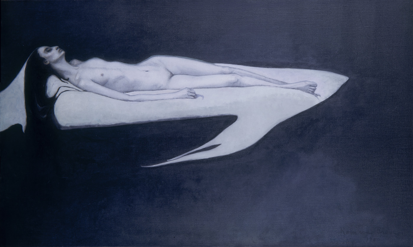 Romaine Brooks - Le trajet, c. 1911 - Smithsonian American Art Museum