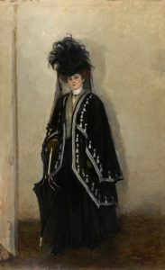 Romaine Brooks - Madame Errazuris, 1908 - 1910 - Smithsonian American Art Museum
