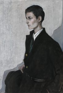 Romaine Brooks - Peter (A Young English Girl), 1923-1924 - Smithsonian American Art Museum