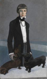 Romaine Brooks - Una, Lady Troubridge, 1924 - Smithsonian American Art Museum