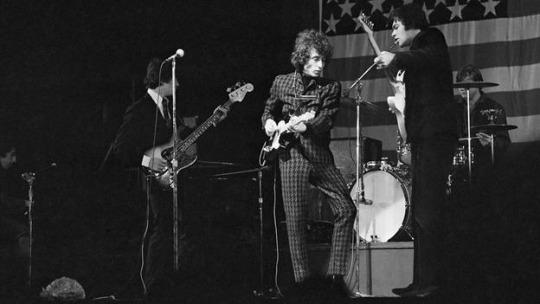 Bob Dylan y 'The Band' en Australia, 1966