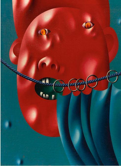 'Circus', 1969 - Oleg Tselkov - Cortesía: Sotheby's