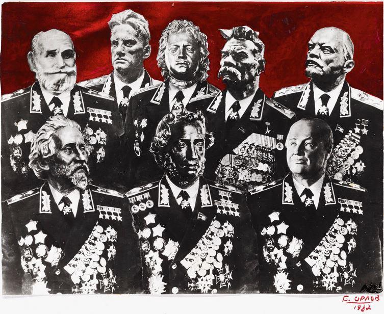 'Group Portarit', 1982 - Boris Orlov - Cortesía: Sotheby's