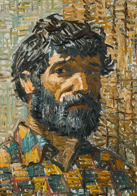 'Self Portrait' - Dmitri Plavinski - Cortesía: Sotheby's