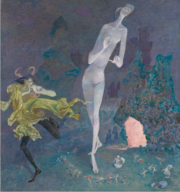 'Ballet', 1964 - Boris Sveshnikov - Cortesía: Sotheby's