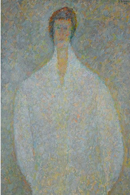 'Portrait of Irina Vishnyakova', 1963 - Vladimir Weisberg - Courtesy: Sotheby's