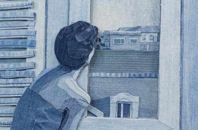 Detalle de la obra 'House Beautiful' - Ian Berry - Foto: Catto Gallery, London
