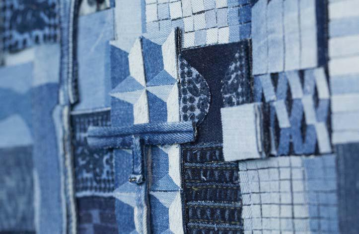 Detalle de una obra de Ian Berry - Foto: Catto Gallery, London