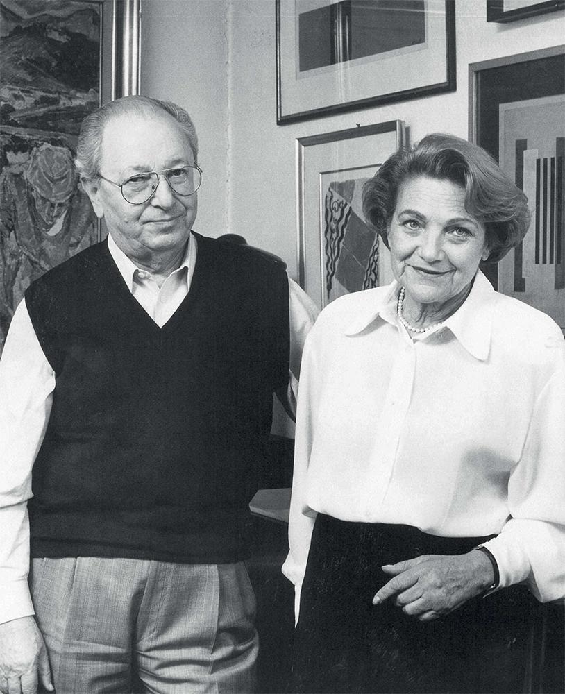 Kenda y Jacob Bar-Gera - Foto cortesía: Sotheby's